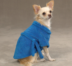 Doggie bathrobe