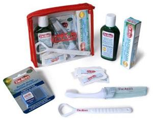 travel dental kit