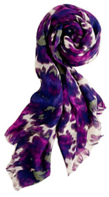 Watercolor scarf