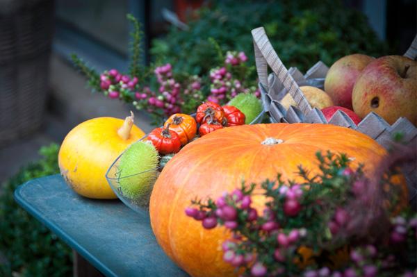 Autumn-inspired soirée