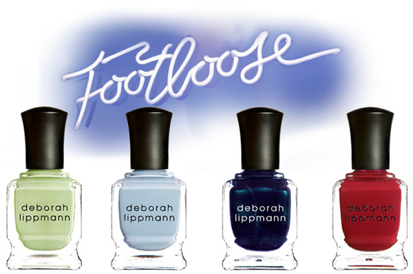 Deborah Lippmann's Footloose-Inspired Nail Polish Collection for HSN