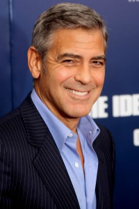 George Clooney at The Ides of March premiere