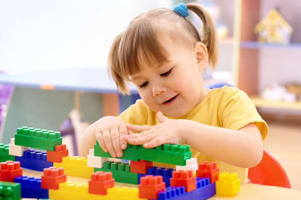 Block play helps build learning skills