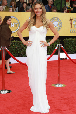 Giuliana Rancic White Dress