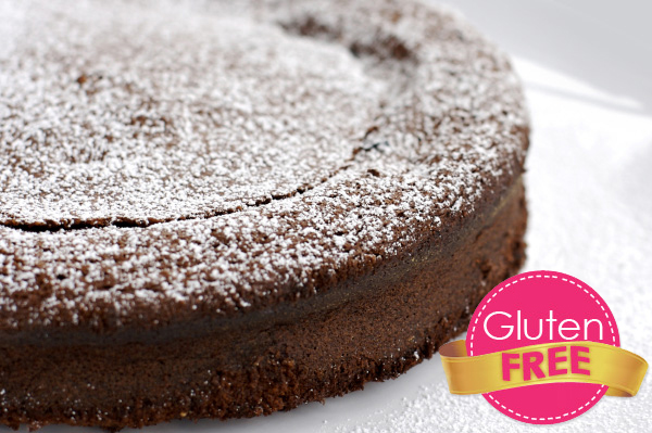 Chipotle flourless gluten-free chocolate cake