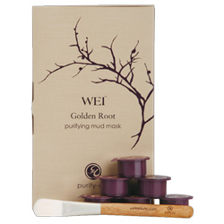 Golden root, the backbone of Wei's Golden Root Purifying Mud Mask ($42)