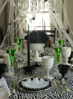 Create a boo-tiful tablescape