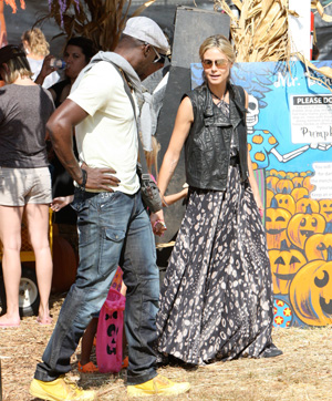 stylish celebrity mom, Heidi Klum