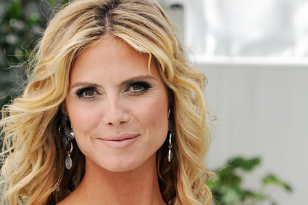 Heidi Klum borrowed an animal from Terry Thompson