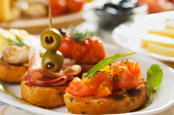 Host an appetizer exchange party