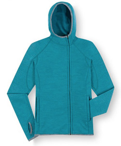 Ibex Women's Nomad FZ Hoody ($160)