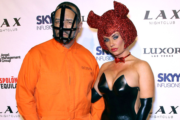 Ice-T and Coco halloween 2011