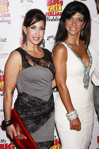 Jacqueline Laurita and Teresa Giudice fight