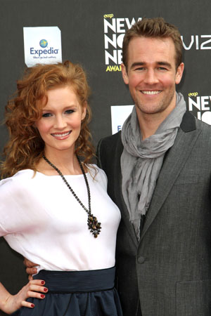 James Van Der Beek and wife expecting another child