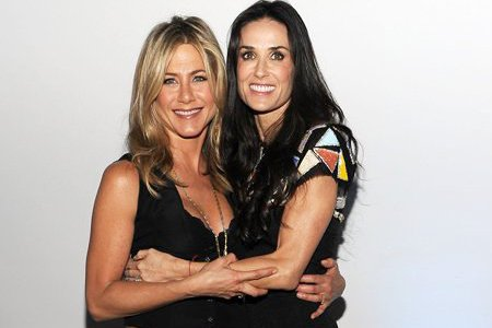 Jennifer Aniston and Demi Moore go behind the camera for Lifetime's Five