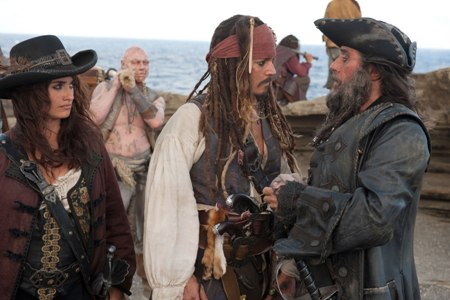 Captain Jack Sparrow vs. Cameron Diaz