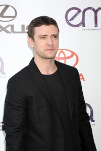Justin Timberlake lists green loves