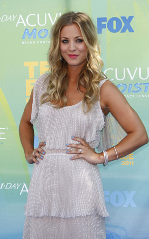 Kaley Cuoco is getting married!