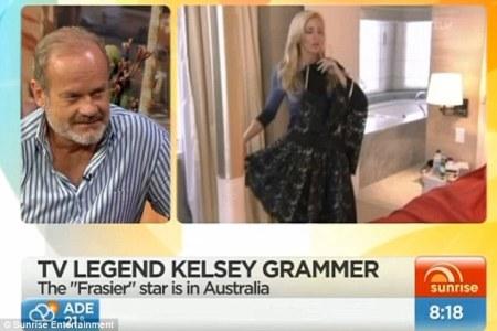 Kelsey Grammer goes postal