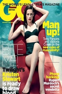 Kristen Stewart on British GQ