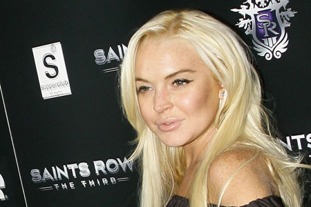 Lindsay Lohan was late for community service