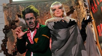 Justin Long and Martha Stewart get spooky on Halloween