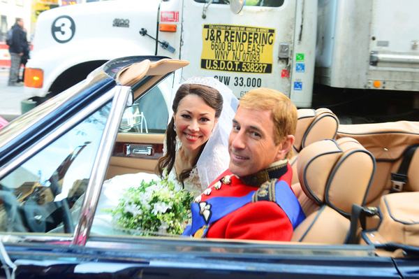 Matt Lauer and Ann Curry Halloween 2011