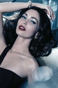 Megan Fox channels old school glam