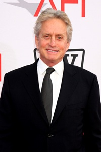 Michael Douglas Goes Back to Work