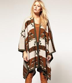 Vero Moda blanket cape