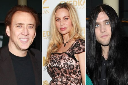 """Nic Cage's ex says """"Go thank yourself"""""""