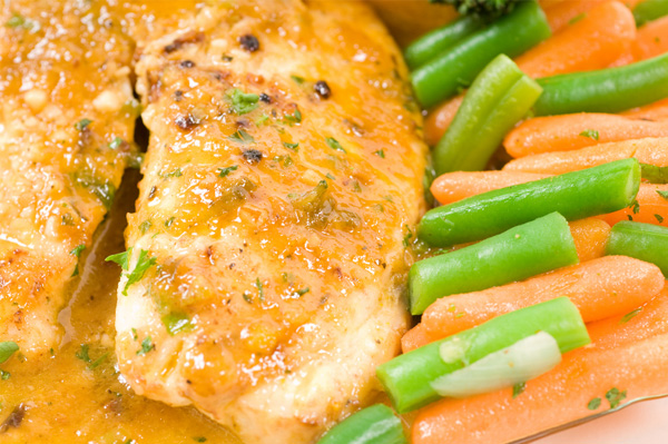 Oranged glazed tilapia recipe