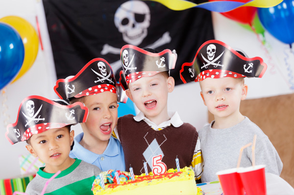 Plan a birthday bash your son will love