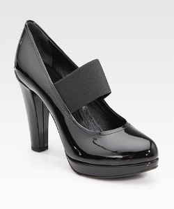 Splurge: Black Pumps
