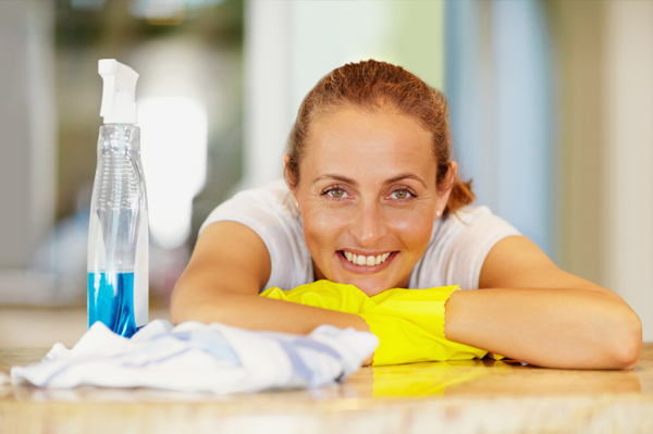 6 quick cleaning tasks