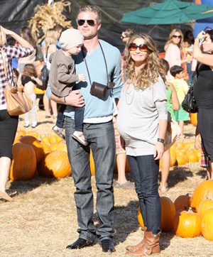 stylish celebrity mom, Rebecca Gayheart
