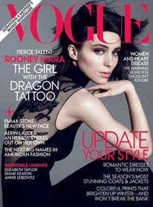 Rooney Mara on Vogue