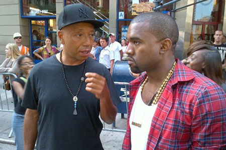 Kanye West supports the 99 percent