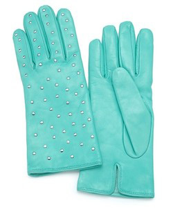 look-at-me leather gloves