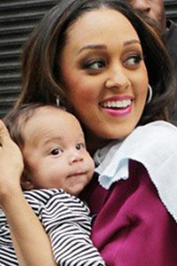 Tia Mowry and son Cree