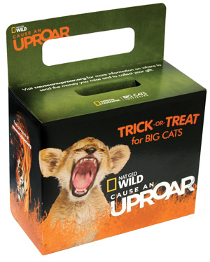Trick or treat - Cause and uproar