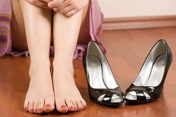 Women love their high heels -- the fashion, the added inches