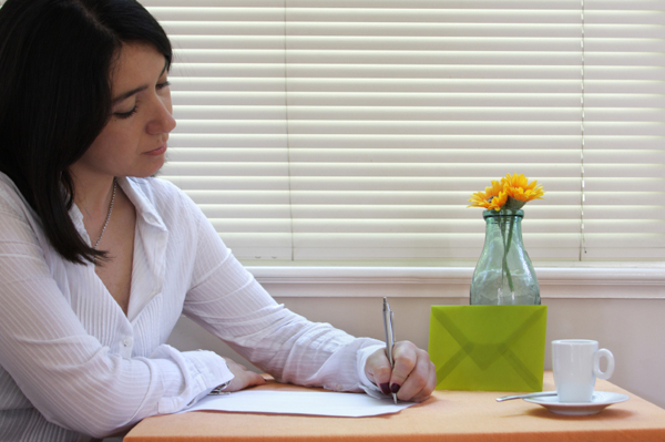 woman-writing-letter