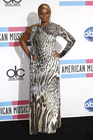 Mary J Blige at the AMAs