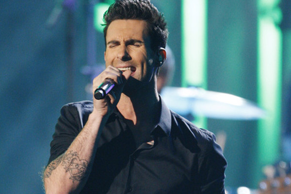 Adam Levine and Maroon 5 won an AMA