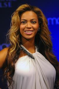 Beyonce rocks skate heels
