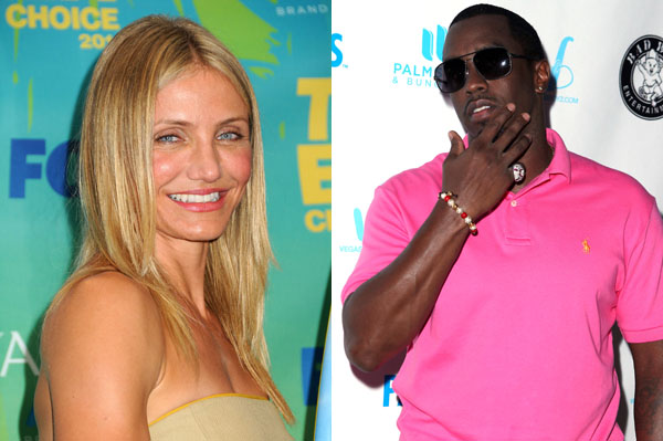 Cameron Diaz and Diddy may be an item