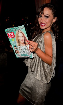 Dancing with the Stars Karina Smirnoff at The TV Guide Magazine Hot List Party
