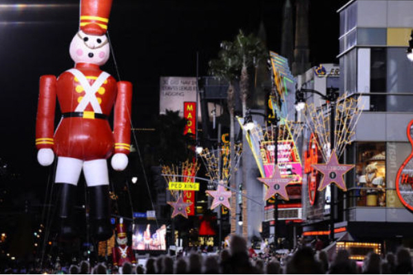Hollywood Christmas Hollywood Christmas Parade