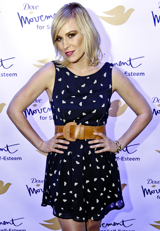 Natasha Bedingfield at Dove's Self Esteem Weekend.